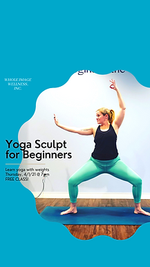 FREE Yoga Sculpt for Beginners