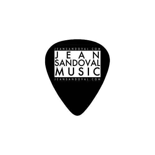 Jean Sandoval Music - Guitar Pick