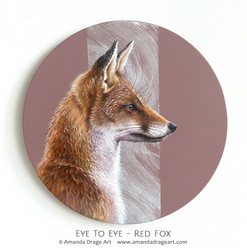 """Eye to Eye"" Red Fox Painting"