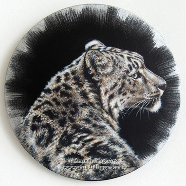 Snow Leopard Painting