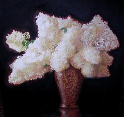 2.)+Limelight+Hydrangeas+in+Gilded+Vase++(+oil+-+30+x+30+).JPG
