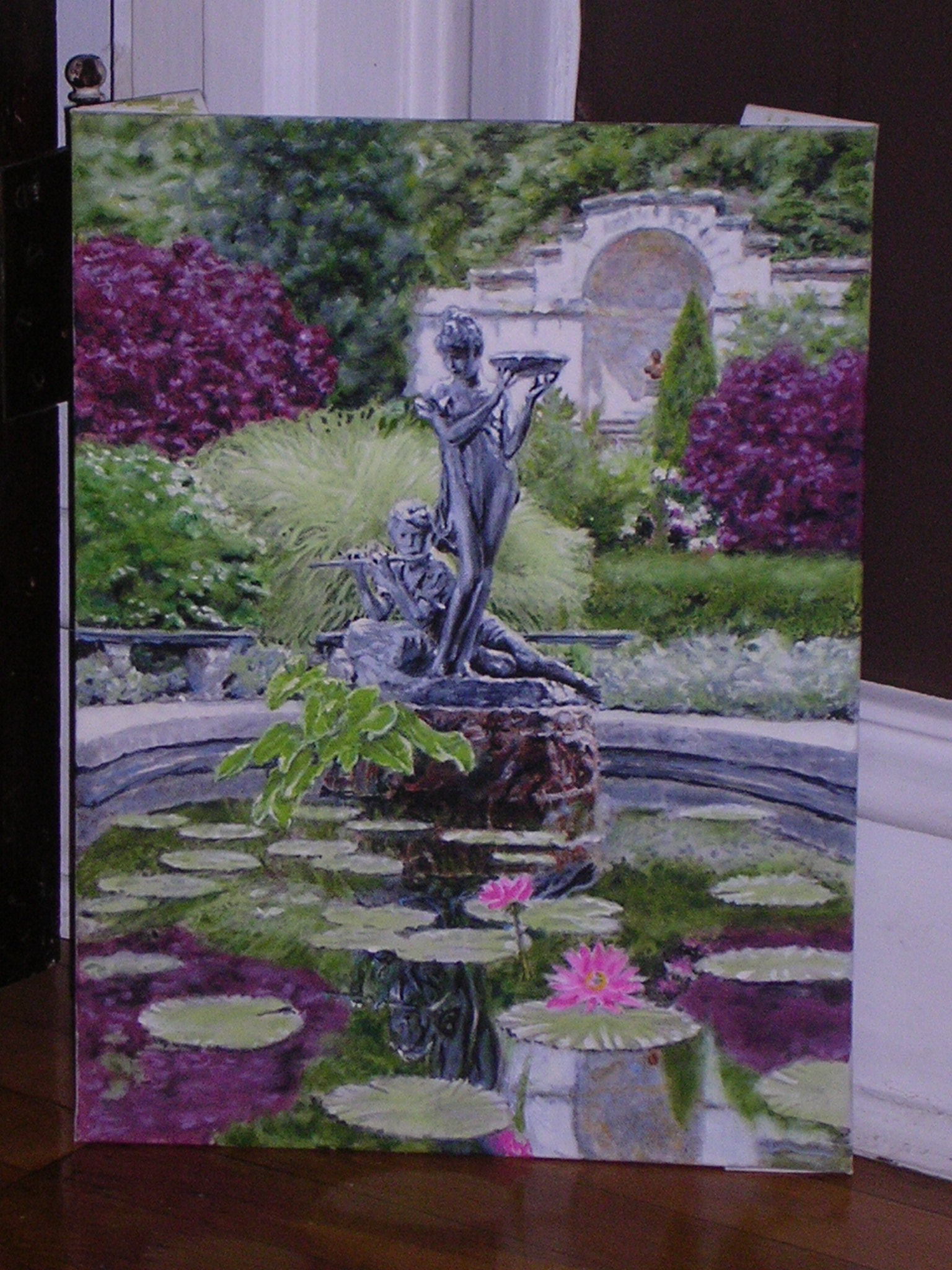 Statue and Lilypads.JPG