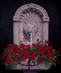 5.)+Red+Roses+in+Lion+Fountain++(+oil+-+36+x+30+).JPG