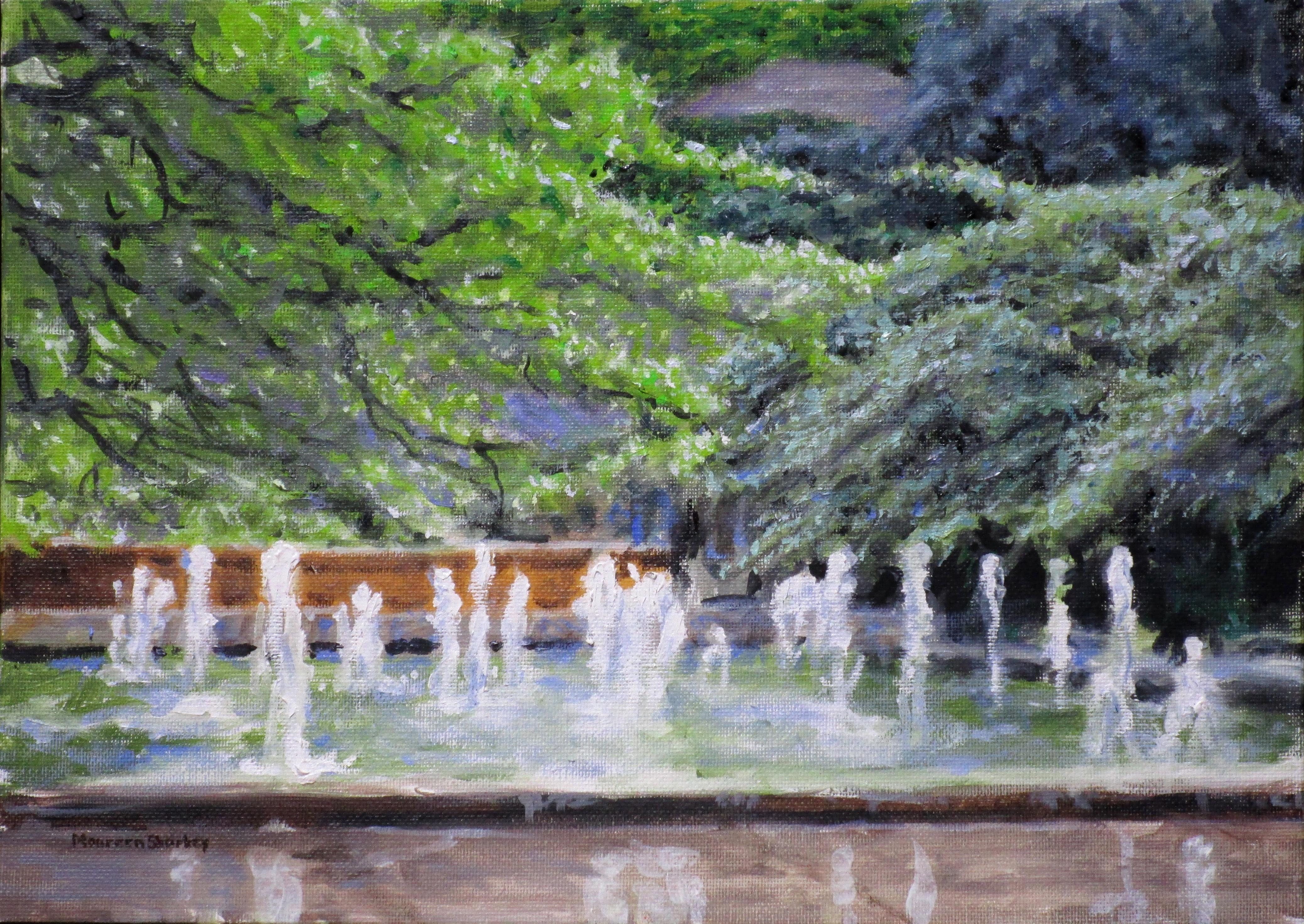 Art Institute Fountain