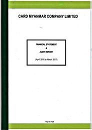FS & Audit Report April 2016-March2017Th