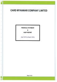 FS & Audit report April 2015-Mrach2016Th