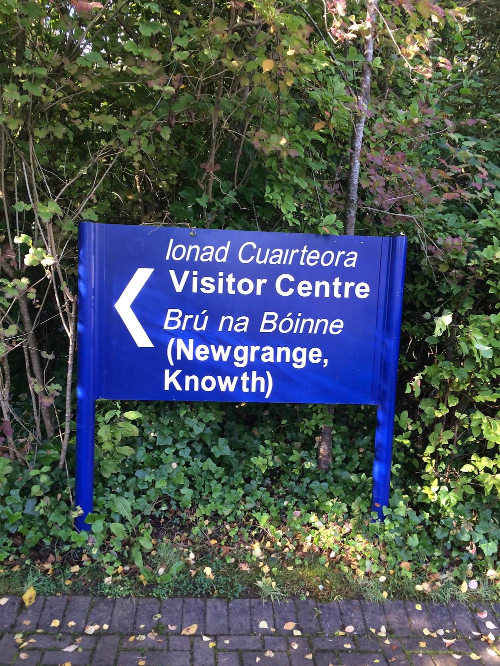 Acesso ao Centro de Visitantes - Newgrange