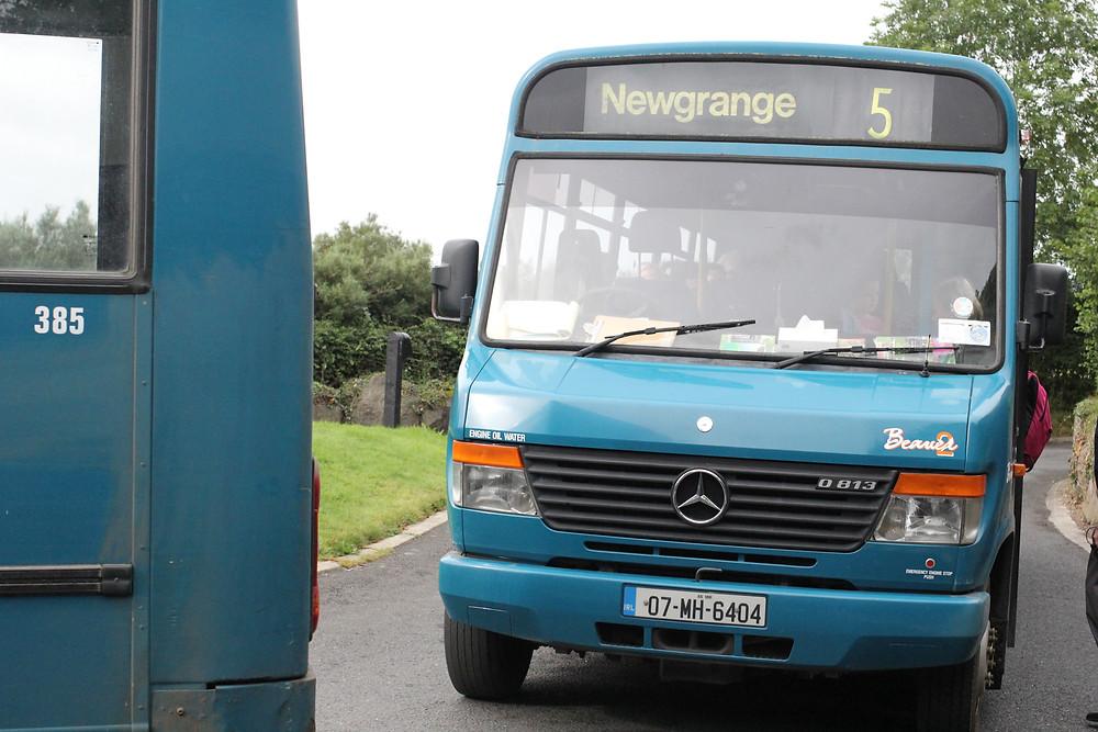 Transporte para Newgrange - Irlanda
