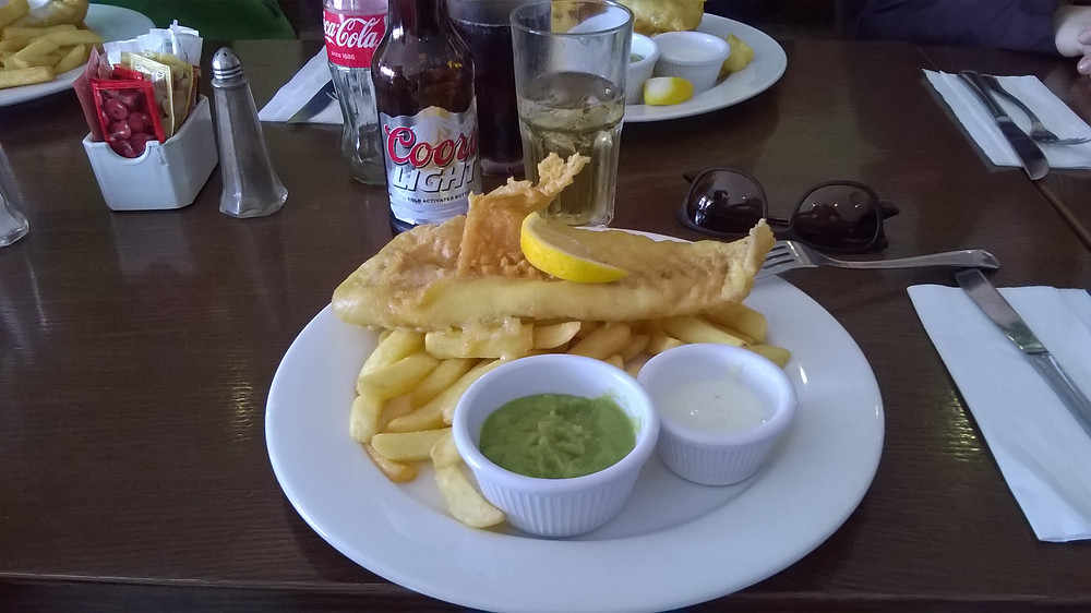 Fish an Chips - The Fork Eatery Restaurant - Irlanda
