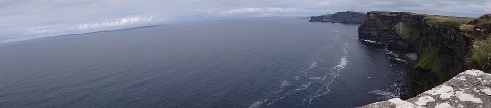 Vista Panorâmica de Cliffs of Moher