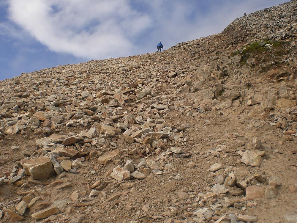 Croagh Patrick Mountain - trecho final