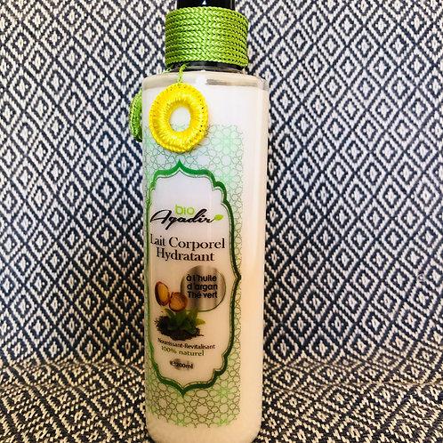 Lait corporel à l'huile d'argan 200ml