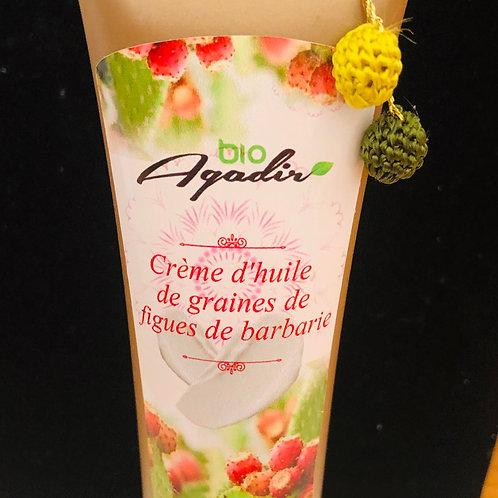 Crème hydratante à l'huile de graines de figues de barbarie
