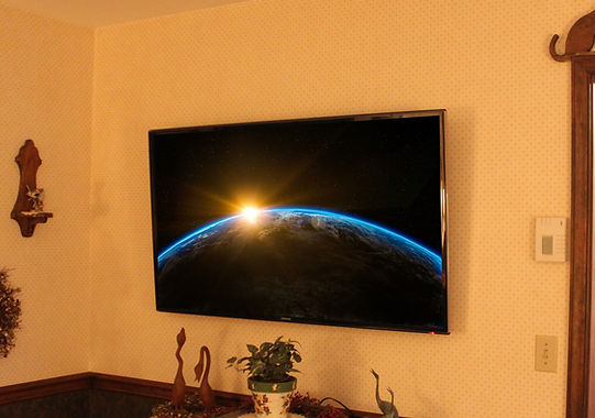 "55"" Television Installation"