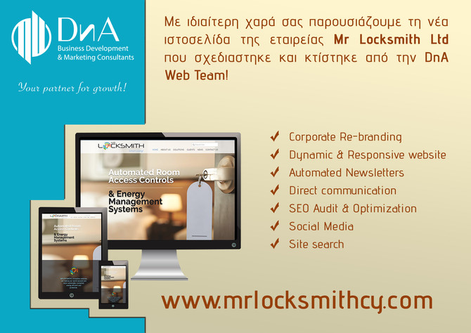 Launching of Mr Locksmith Website