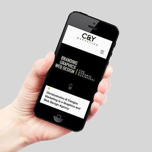 C&Y Marketing web design