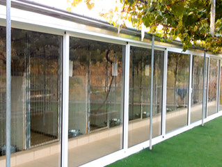 Climate control kennels