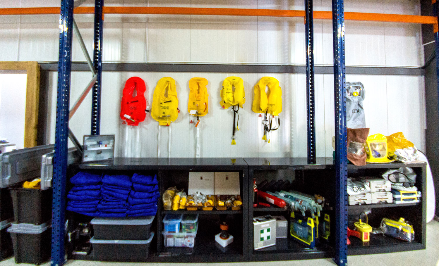 COMPLETE LINE OF SAFETY EQUIPMENT