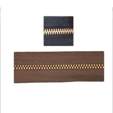 Bronce dorado por metro lineal