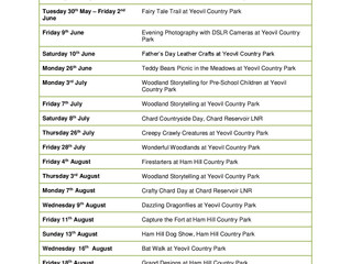 Countryside Events 2017