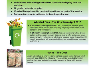 Garden Waste Collection