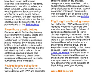 SWP October 2016 monthly briefing