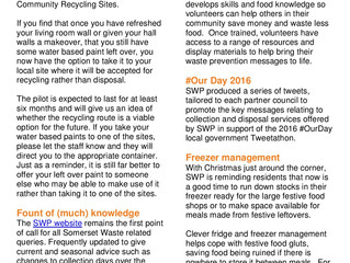 SWP November 2016 monthly briefing