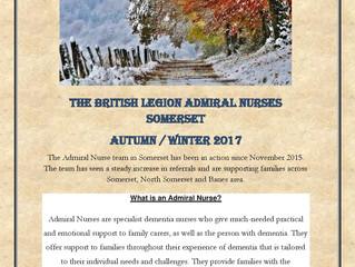 The British Legion Admiral Nurses Somerset
