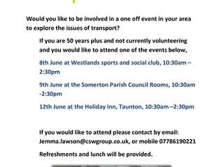Transport meeting for the community of Somerset