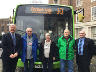 Town and Parish Partnership Saves Local Bus Routes