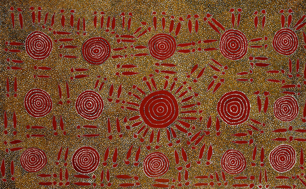 Kangaroo Ceremony, 122x200cm