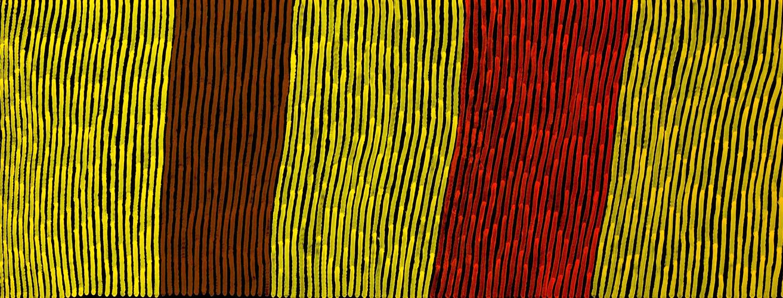 Tingari Fire Dreaming, 71x183cm