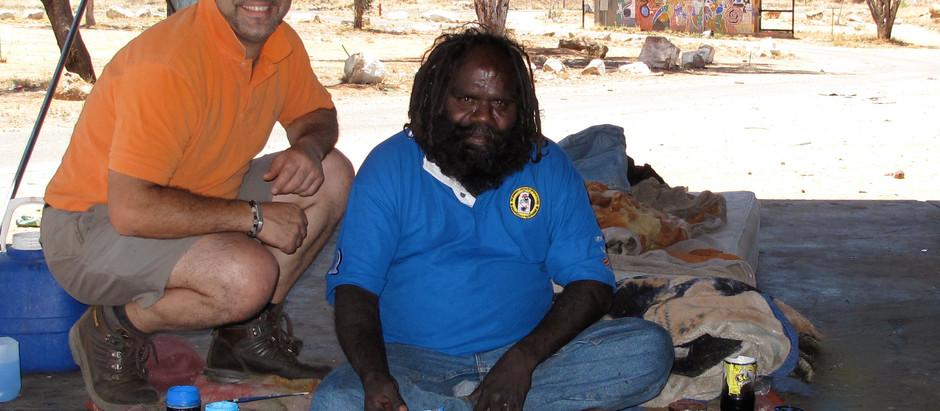 The Last Desert Nomads: Walala and Thomas Tjapaltjarri