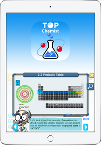 A preview of the TopChemist App