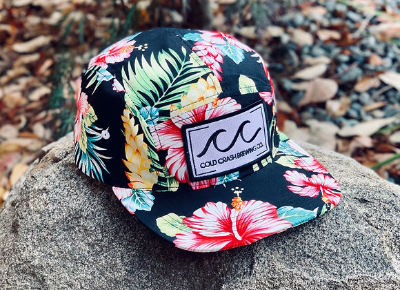 5-Panel Tropical Sunset Strapback | Cold Crash Brewing Co.