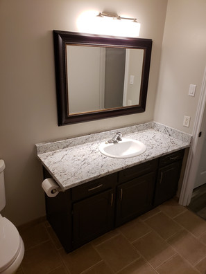 New Sink, Counter, Harware