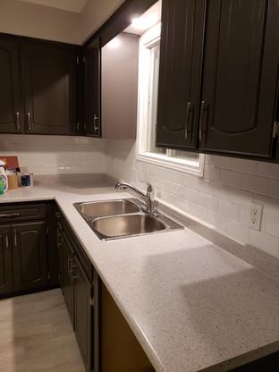 New Sink, Countertop, Tap