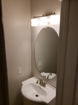 New Mirror and Fixture