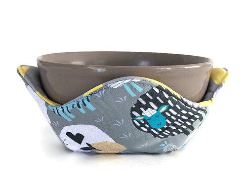 Bowl Cozy - Reversible