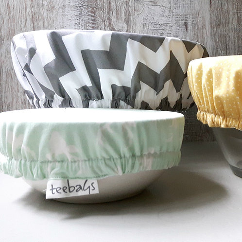 Extra Large Reusable Fabric Bowl Cover