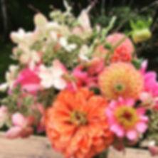 hydrangeas, dahlias, zinnias, gorgeous flowers, beaufiul blossoms, summer bouquets, flower subscription, CSA