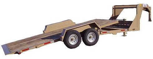22' Tilt Deck Heavy Equipment Hauler