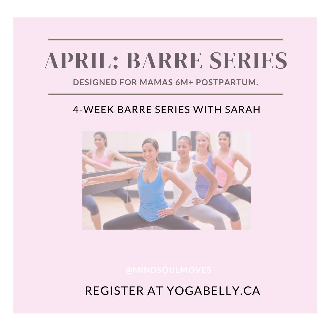 April Barre Series