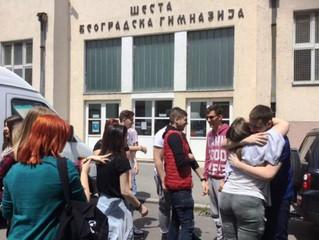 Повратна посета VI београдској гимназији