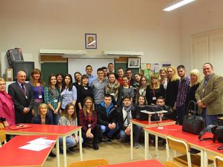 Други сусрет гимназија Европе у Будимпешти