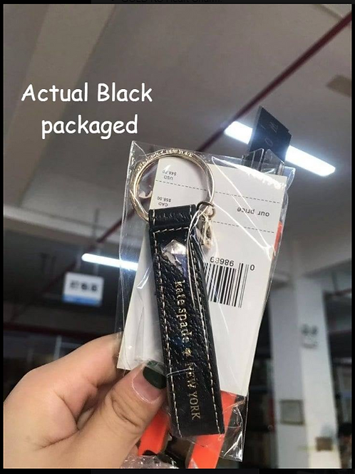 KS Leather Keychain INCLUDES SHIPPING!