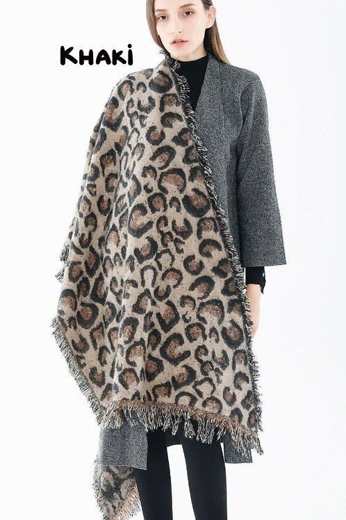 Vintage Leopard Shawl INCLUDES SHIPPING!