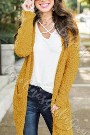 Around The World Popcorn Cardigan INCLUDES SHIPPING!