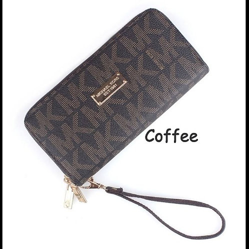 MK Double Zippered Wallet/Wristlet INCLUDES SHIPPING!