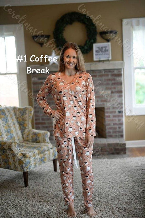 Let's Stay Home Pajama Set INCLUDES SHIPPING!